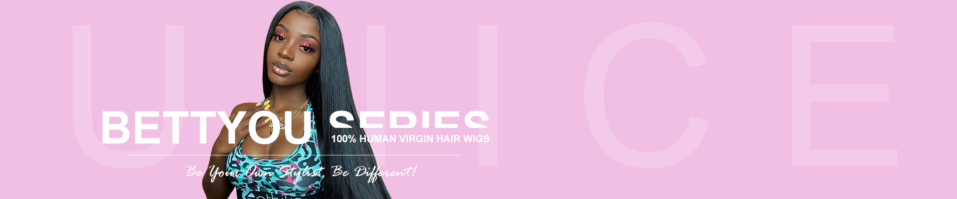 UNice Bettyou Series: 100% Human Hair Wigs