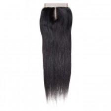 UNice Straight Human Virgin Hair Lace Closure