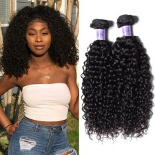 UNice Hair Kysiss Series 2018 Jerry Curly Brazilian 3 Bundles Virgin Hair