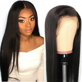 UNice Hair Bettyou Wig Series 100% Human Hair Soft Long Straight 360 Lace Cap Wig 12-28 Inches