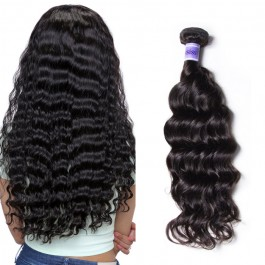 UNice Hair Kysiss Series Good Quality 3pcs Peruvian Natural Wave Virgin Hair With Closure