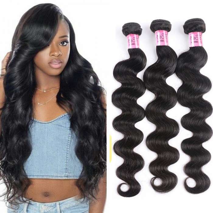UNice Hair 3 Pcs/pack Hair Brazilian Body Wave Virgin Hair Icenu Series
