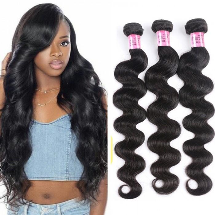 UNice Selected 3 Pcs/pack Hair Brazilian Body Wave Virgin Hair Icenu Series