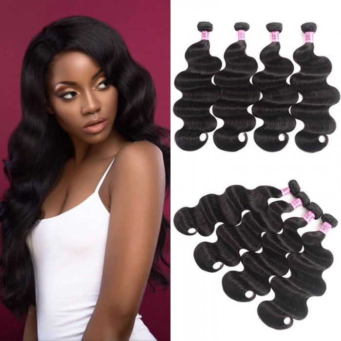 UNice Hair Icenu Series Indian Body Wave Human Virgin Hair 4pcs/pack