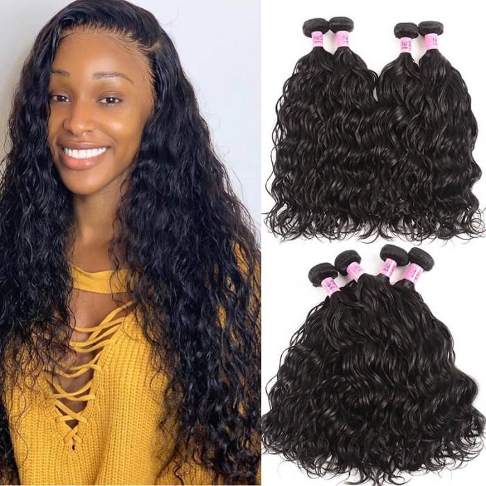 UNice Hair Icenu Series Peruvian Natural Wave Hair Weft 4pcs/pack