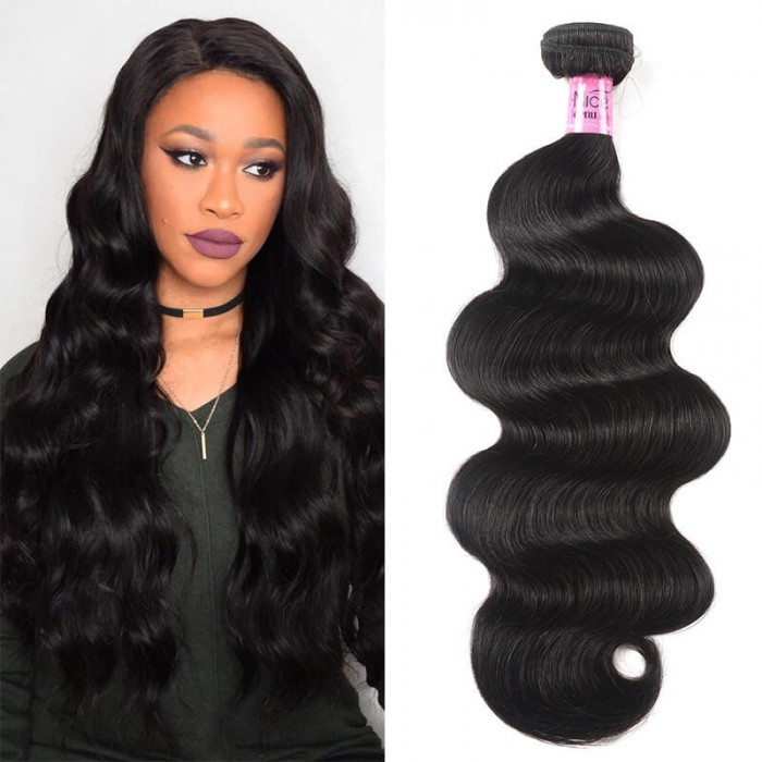 Icenu Series Grade Body Wave Hair 100% Human Virgin Hair Double Weft