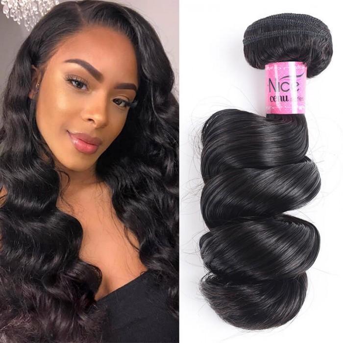 Icenu Series Loose Wave Hair Extensions 100% Unprocessed Human Virgin Hair