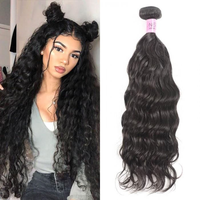 Icenu Series Hair Products Natural Wave 1Bundle Virgin Human Hair 95-100g/pc