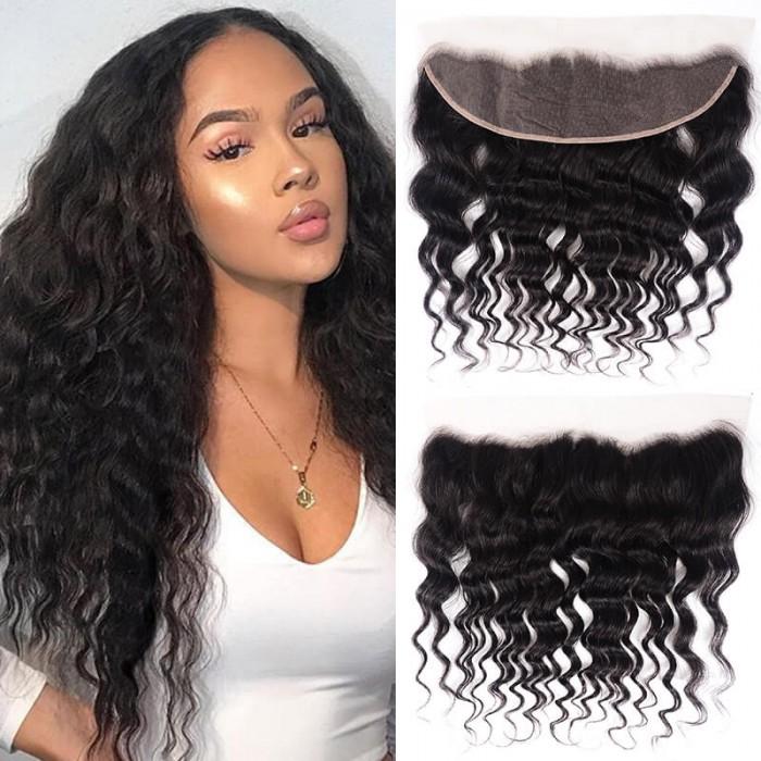 UNice Natural Wave Hair Lace Frontal Hair Closure