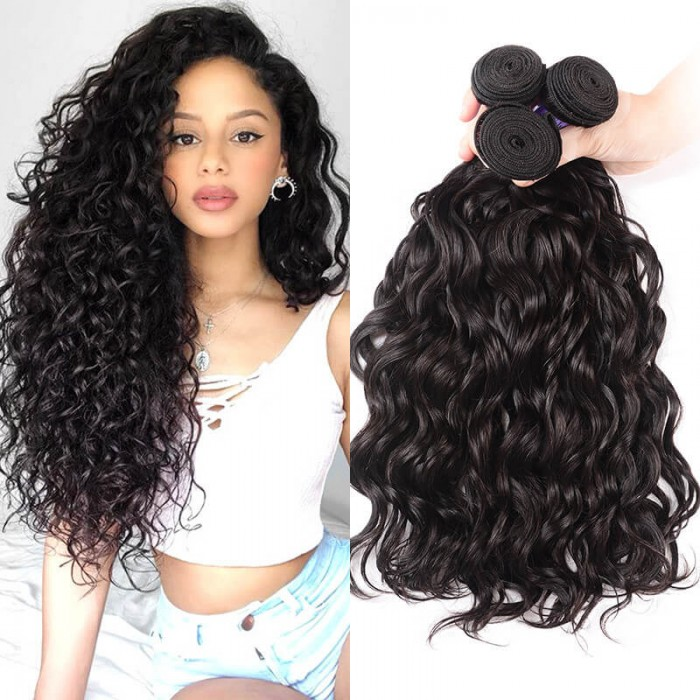 UNice Hair Kysiss Series Brazilian Natural Wave Hair Weaves 3 pcs/lot