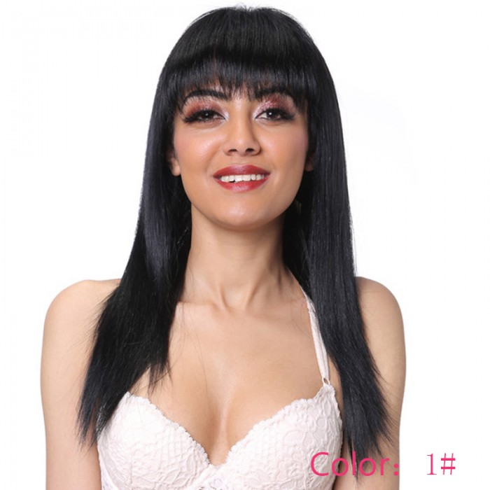 UNice Hair Bettyou Series Iron Hot Straight Hair Wigs Brazilian Human Virgin Hair
