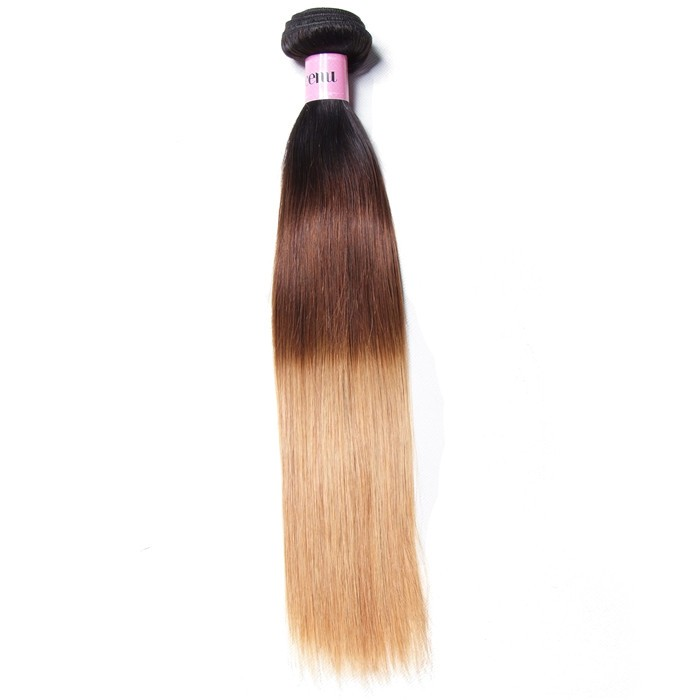 UNice 7A Virgin Hair Ombre Straight Hair Extensions