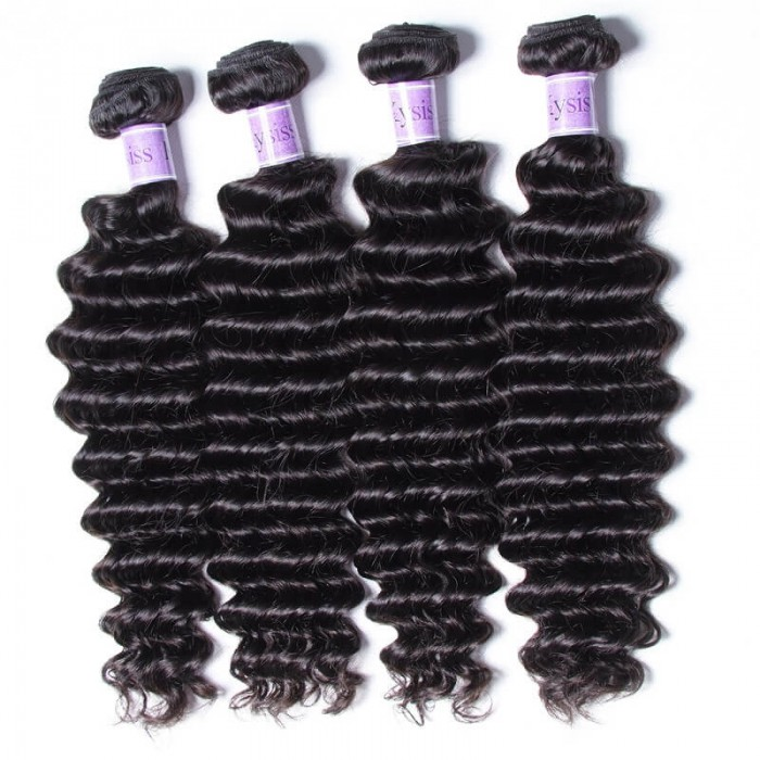 UNice-Kysiss Unprocessed Indian Deep Wave Virgn Hair 4 Pcs/pack Products