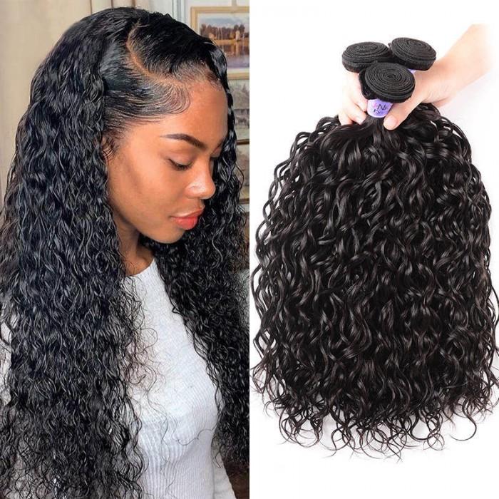 UNice Hair Kysiss Series Product 3 Pcs/lot Malaysian Unprocessed Virgin Hair Water Weaves