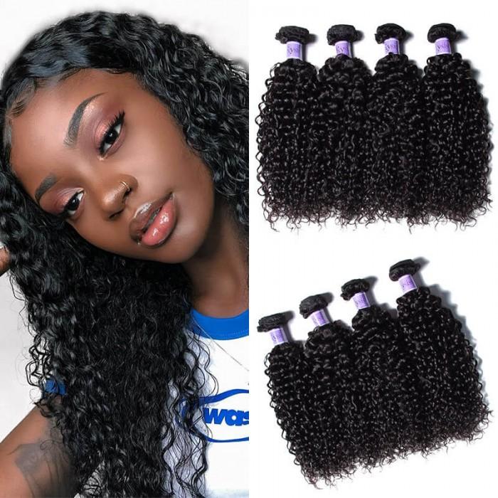 UNice Hair Kysiss Series Hair 4 Bundles Unprocessed Virgin Hair Wholesale Jerry Curly Hair