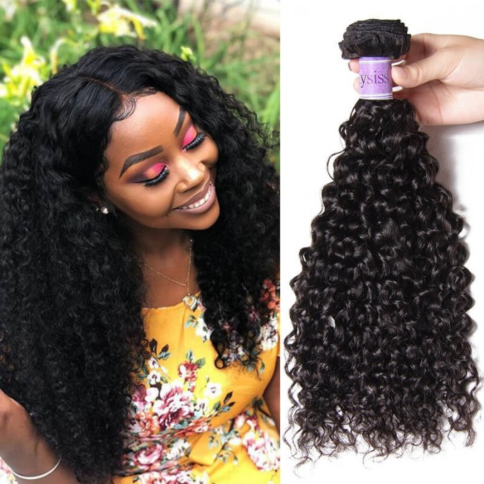 UNice Hair Kysiss Series 1 Piece Jerry Curly Human Virgin+ Hair