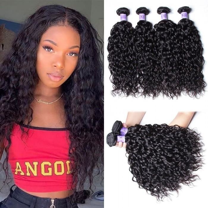 UNice Hair Kysiss Series 4Pcs/pack Human Hair Water Weave Virgin Hair