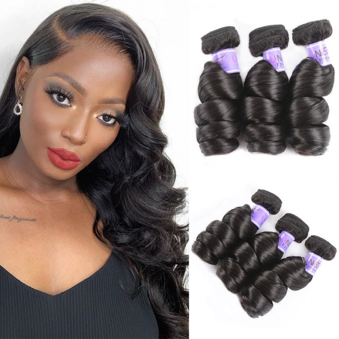 UNice Hair Kysiss Series 3pcs/pack Malaysian Loose Wave Hair Extension