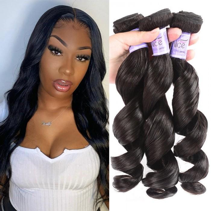 UNice Hair Kysiss Series Indian Loose Wave Virgin+ Hair 3 Pcs/lot