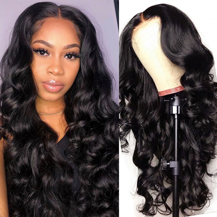 UNice Hair Bettyou Wig Series Long Body Wave Human Hair Full Lace Wig 150% and 180% Density Wigs For African American Women