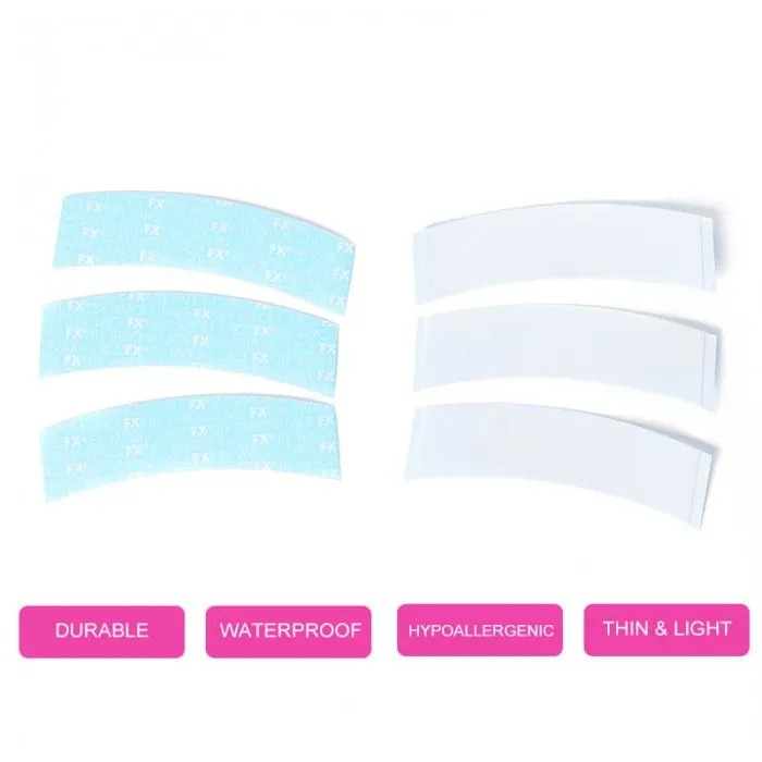 Bonus Buy Toupee Tape Strips Double Sided Water-Proof Tapes for Toupees and Hairpieces Hair Extensions Lace Front Support Wigs