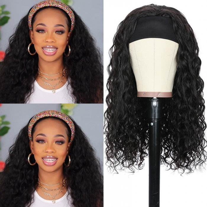 Why choose headband half wig?