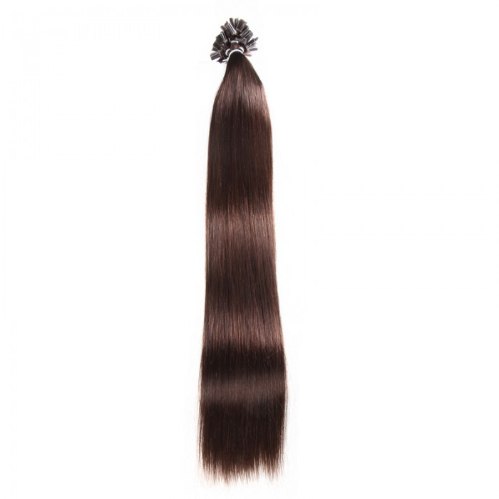 Unice 100s 05gs Straight Nailu Tip Remy Hair Extensions 1 1b 2