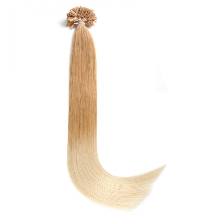 UNice 100s 1g/s Omber Straight Nail/U Tip Remy Hair Extensions