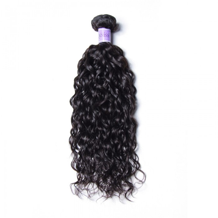 UNice-Kysiss 1 Piece Water Wave Human Hair Extension 8A Grade