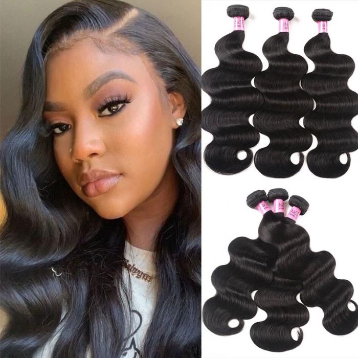 Flash Sale UNice Hair Icenu Series Body Wave Virgin Hair 3 Bundles 18 Inch
