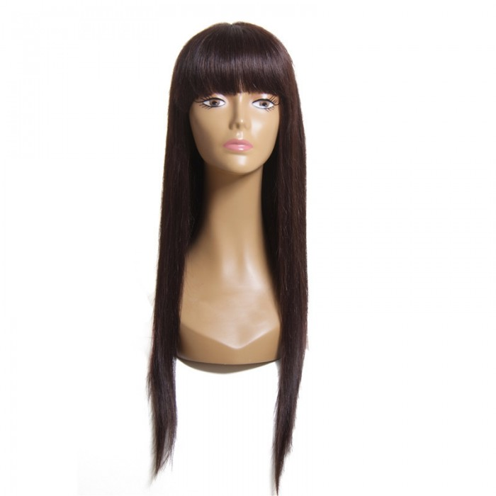 UNice Iron Hot Straight Hair Wigs Brazilian Human Virgin Hair