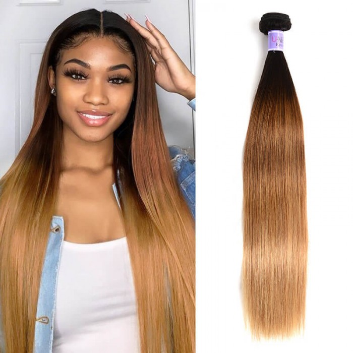 Buy UNice Kysiss Ombre Straight Hair Weave,Virgin Straight Ombre Weave Online