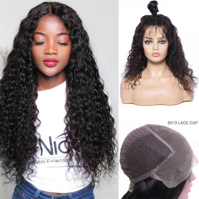 bc5909df355 UNice Hair Bettyou Series Latest Fabulous Charming Middle Wavy Lace Front  Wigs 100% Human Hair