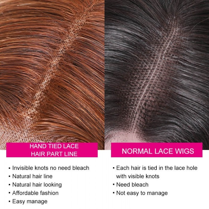 Advantages of lace parted wig.