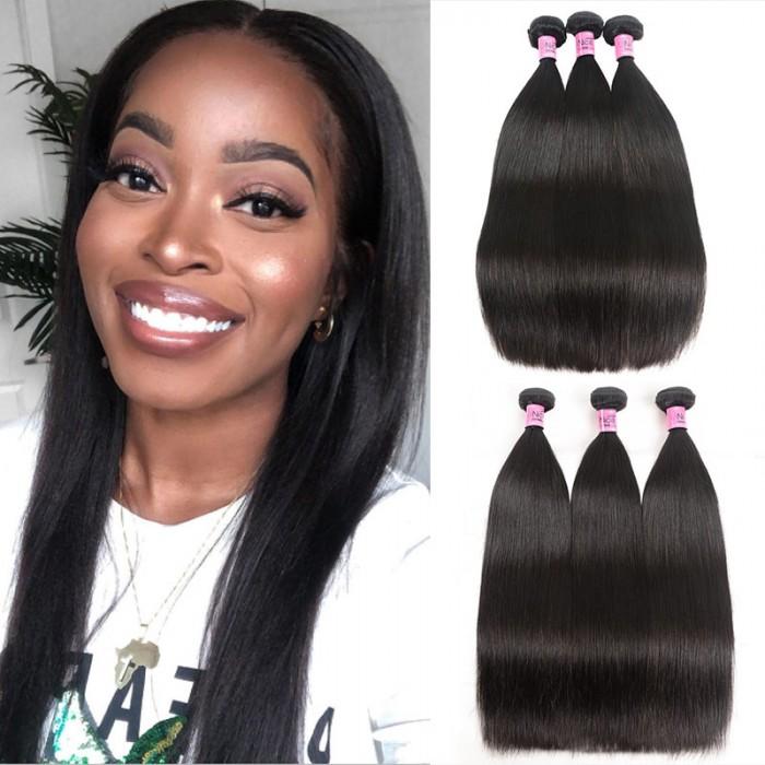 UNice Hair Icenu Series 3 Bundles Virgin Straight Hair Virgin Human Hair Extensions