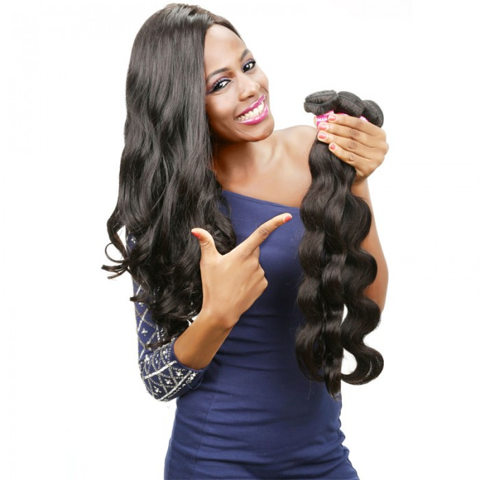 UNice Human Virgin Hair 3 Bundles