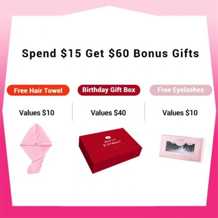 Bonus Buy Exclusive  Birthday Gift Package