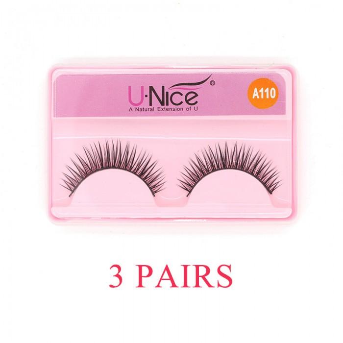 Eyelashes Three Pairs