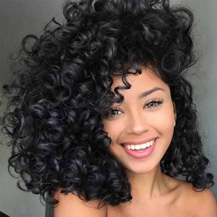UNice Funmi Curly Tight & Neat Human Bundle Virgin Hair Natural Color