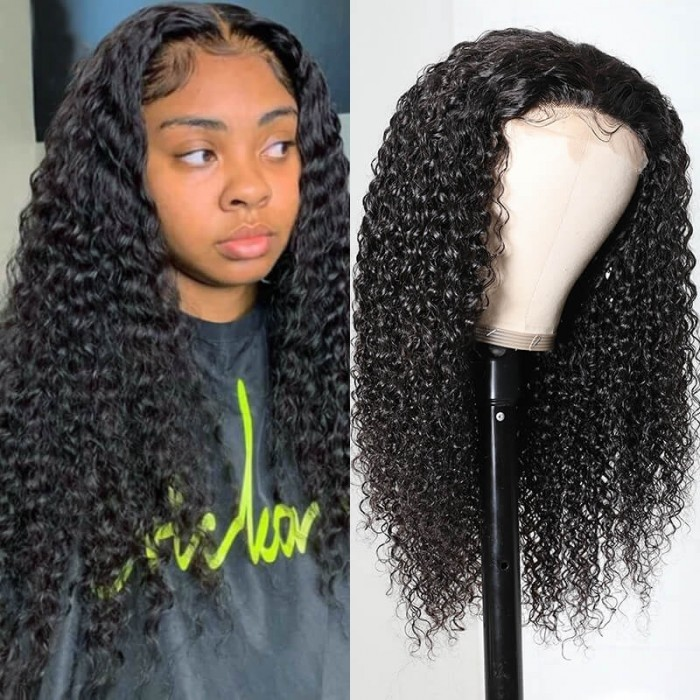 UNice Hair HD Transparent Lace Wig Jerry Curly 5x5 Closure Wigs Bettyou Series