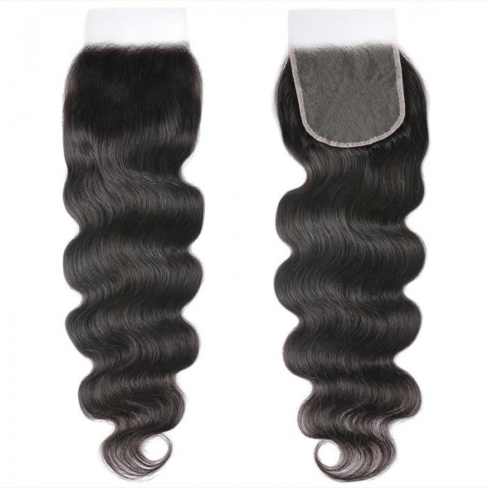 UNice Hair 5x5 HD Lace Closure Body Wave Transparent Lace undetectable Lace Closure Invisible Knots Human Hair