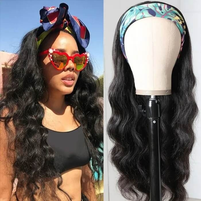 Flash Deal: New Headband Wig Body Wave Wig | Extra Gifts: 3 Fashion Headbands