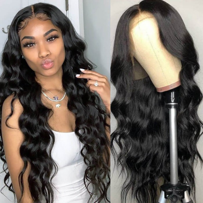 UNice Hair Long Body Wave Human Vrgin Hair Lace Front Wig Pre Plucked With Baby Hair For Women Online For Sale Bettyou Series