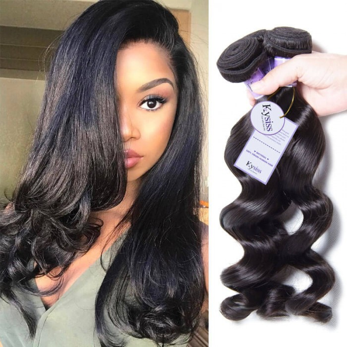 UNice-Kysiss 3pcs/pack Malaysian Loose Wave Hair Extension