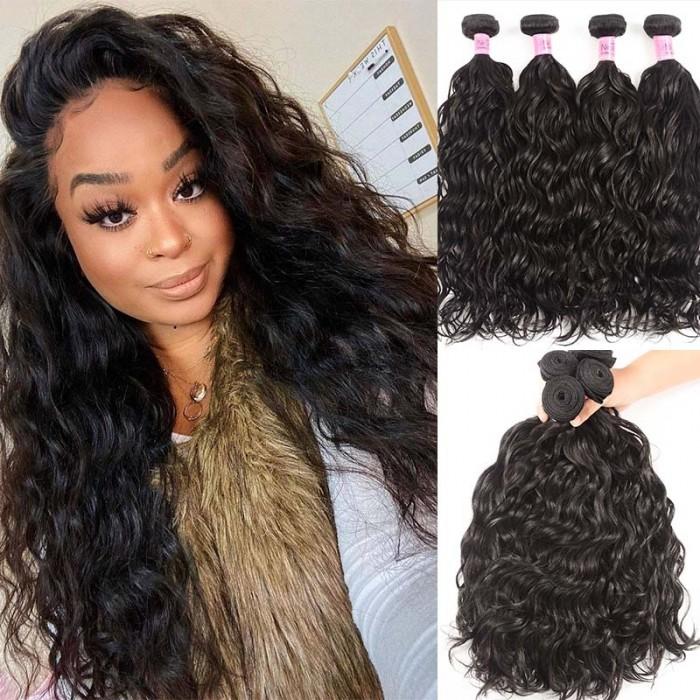 UNice Hair Icenu Series Virgin Hair Natural Wave 4pcs/pack Human Hair Weft