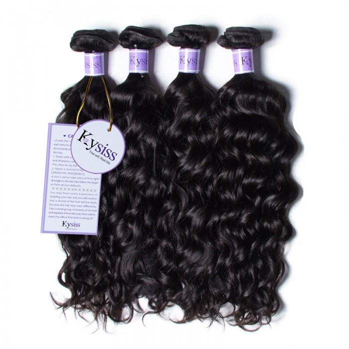 UNice Hair Kysiss Series 4 Bundles Unprocessed Peruvian Natural Wave