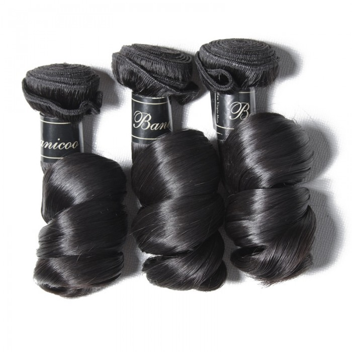 UNice Hair 3pcs/Lot Loose Wave Hair Bundles Deals Premium Virgin Hair Extensions Banicoo Series