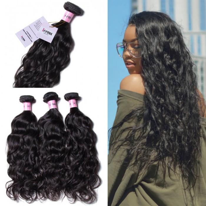 Unice Hair Icenu Series 3pcspack Brazilian Virgin Hair Natural Wave