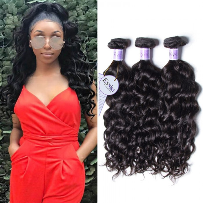 UNice-Kysiss Brazilian Natural Wave Hair Weaves 3 pcs/lot