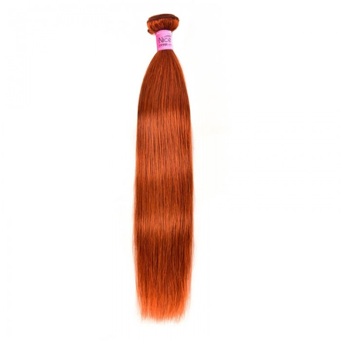 UNice Virgin Straight Hair 1 Piece #350 Pure Color 8-30 Inch Hair Bundles Icenu Series